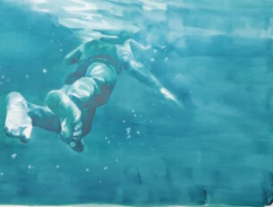 turquoise swimmer study